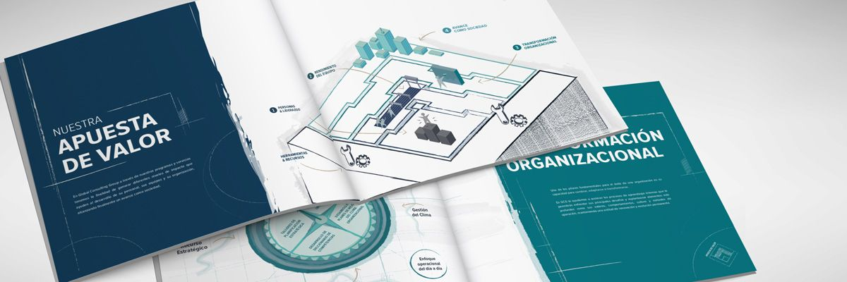 Corporate Visual report for Global Consulting