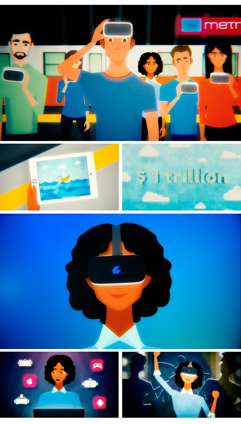 Infographics in explaining videos: The new reality with CEEK VR