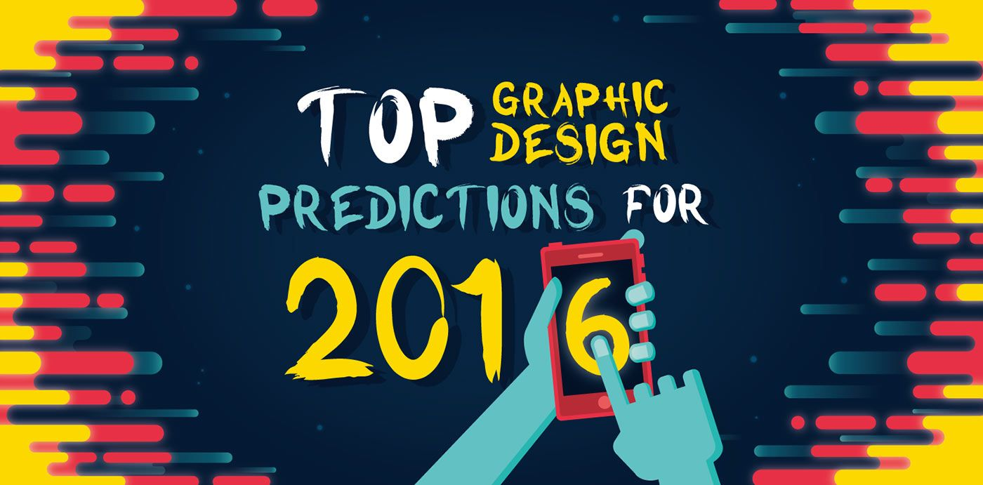 16 Graphic Design Trends To Watch In 2016