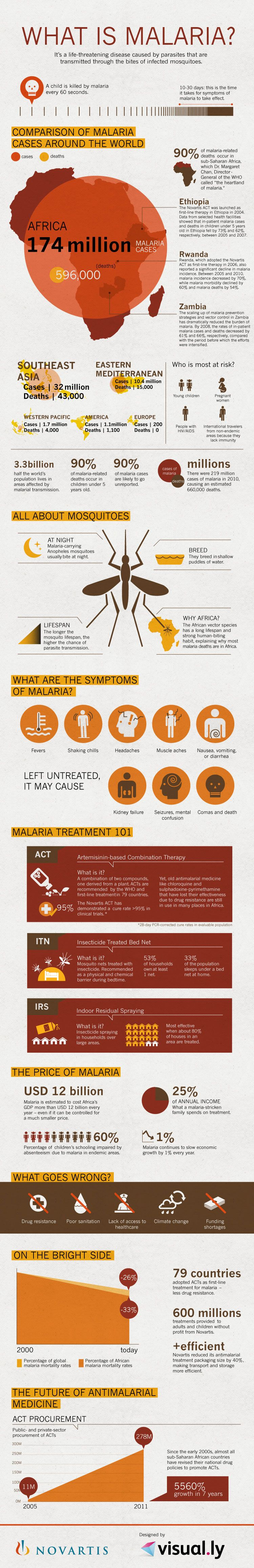 Infographics: What is Malaria?