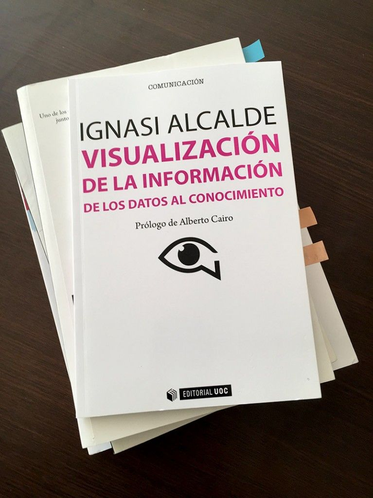 Ignasi Alcalde: All about his new book and the importance of the infographics